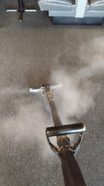Steam Cleaner | We Work Hard Cleaning Stranger's Floors!